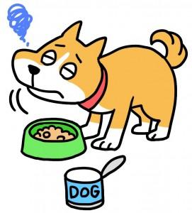 犬の食欲減退