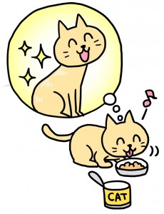 猫とペットフード