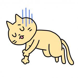 熱中症の猫