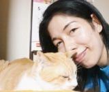 飼い主さんと猫2