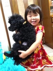 犬と娘さん